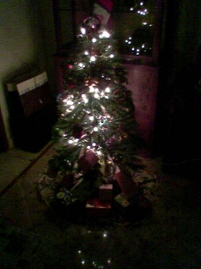 christmas tree we made together