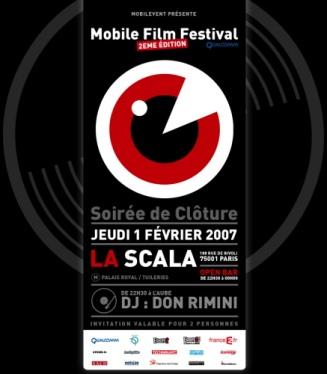 2nd Mobile Film Festival 2007