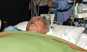 Soeharto in critical state at RSPP. Picture courtesy of www.brisbanetimes.co.au.