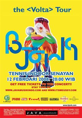 Bjork Volta Tour - Jakarta
